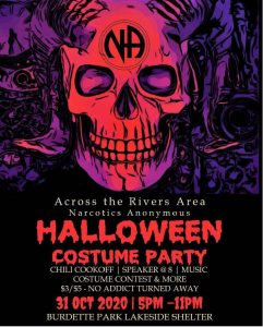 ATRA Halloween Costume Party @ Burdette Park Lakeside Shelter